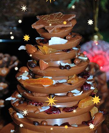 Eva Hess Weihnachtsschokoladenbaum